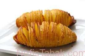 Fırında Tırtıl Patates Tarifi