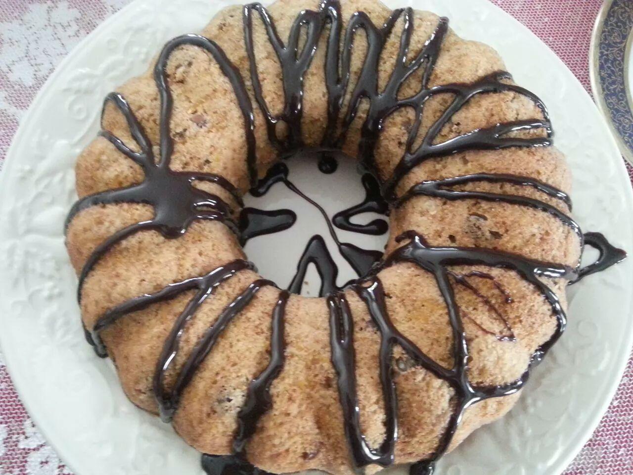 Nescafeli Damla Çikolatalı Kek Tarifi