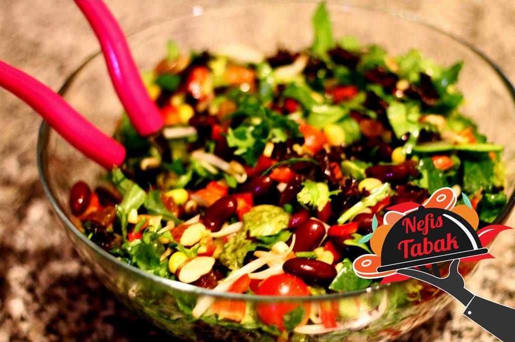 Meksika Fasülyeli Salata Tarifi