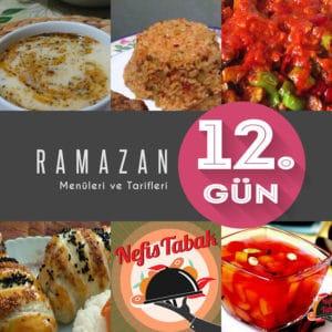 2015 Ramazan İftar Menüsü 12. Gün