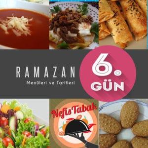 2015 Ramazan İftar Menüsü 6. Gün