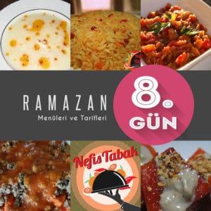 2015 Ramazan İftar Menüsü 8. Gün