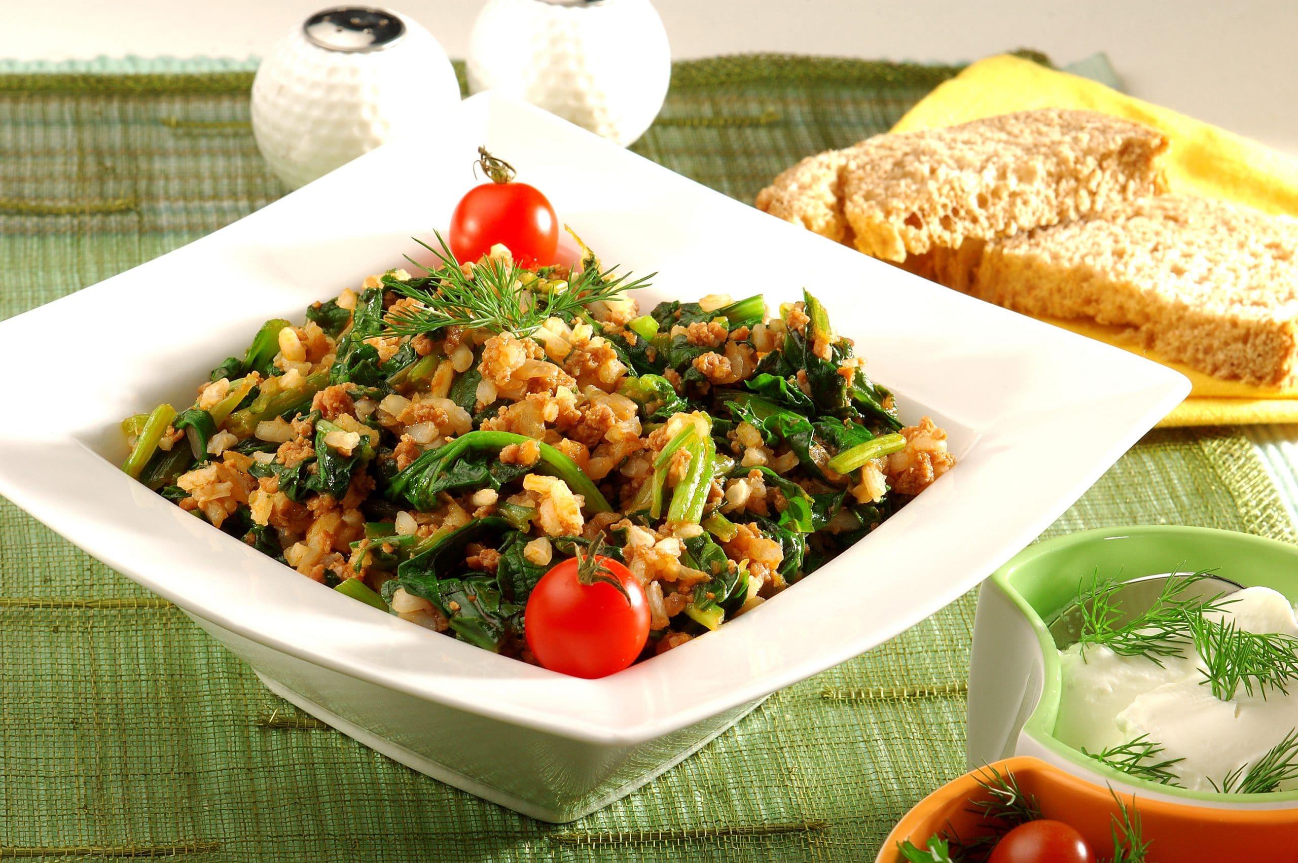Pirinçli Ispanak Tarifi