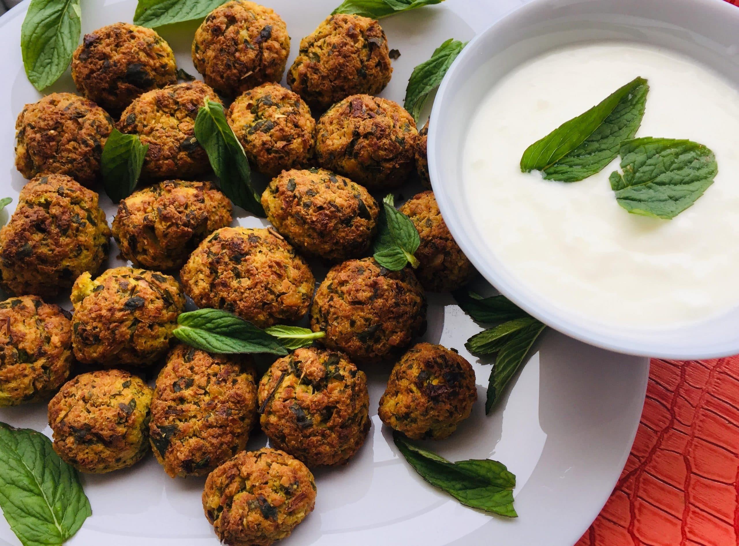 Glutensiz Falafel Tarifi